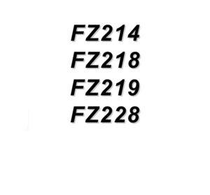 ZANOTTI FZ214, FZ218, FZ219, FZ228