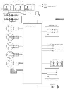 CRR DF MPC2000 Unit Wiring Schematic.