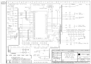Схемы Thermo King DSR Microprocessor Controller V-100 MAX.