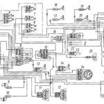 Электрическая схема системы световой сигнализации автомобилей КамАЗ-5320, 5321, 53212, 53213, 5410, 54112, 55111, 55102, 53229, 65115.