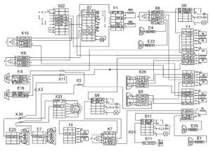 Функциональная схема наружного освещенияавтомобилей КамАЗ