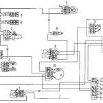 Электрическая схема электроснабжения автомобилей КамАЗ-5320, 5321, 53212, 53213, 5410, 54112, 55111, 55102, 53229, 65115.