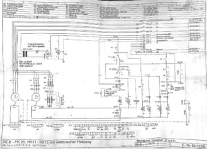 Схема FrigoBlock FK13SL-FK25SL, HK13SL, FK8-FK25, HK11-HK13.