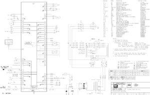Схема Carrier Harios 350 Road 230-400V/3/50HZ; 230-400V/3/60HZ; 12VDC; 14VDC.
