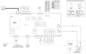 Схема подключения ZANOTTI SFZ213, SFZ214, SFZ218, SFZ219, SFZ221, SFZ228, SFZ229.