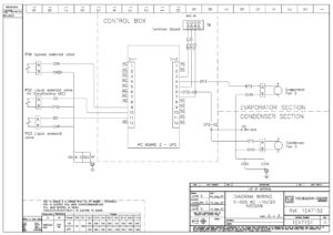 Схемы Thermo King DSR Microprocessor Controller V-500 AC.