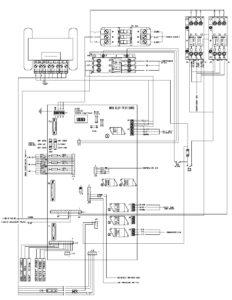 CRR DF MPC2000ID Main Relay Board Electrical Diagram.