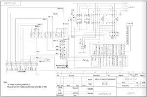 Схемы KINGTEC A12 Control panel.