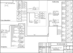 Схема соединений TerrraFrigo S30P.