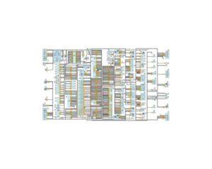 Схема соединений электропроводки автомобилей УАЗ-3163