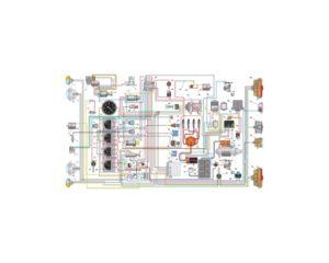Схема электрическая принципиальная УАЗ–3303