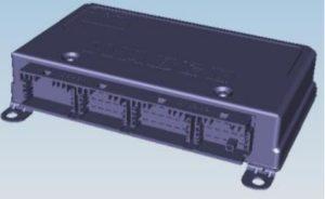 Схема электрическая принципиальная электронной тормозной системы (EBS) КамАЗ 5490.