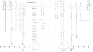 Схема электрическая принципиальная системы управления тахографом КамАЗ 5490.