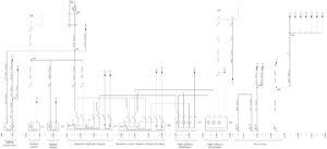 Схема электрическая принципиальная устройства комфорта в кабине КамАЗ 5490.