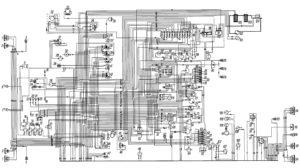 Схема электрооборудования автомобиля Урал-43206.