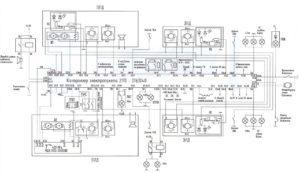 Схема подключения блока комфорта Лада Приора.