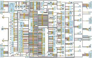 Схема соединений электропроводки автомобилей УАЗ-Патриот