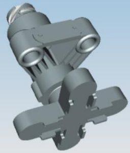 Схема электрическая принципиальная системы управления пневмоподвеской КамАЗ 5490.