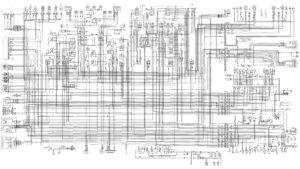 Полная электрическая принципиальная схема Урал 6370.