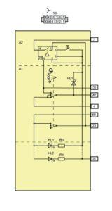 Схема электрическая принципиальная модуля управления светотехникой Лада Гранта