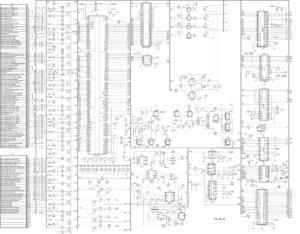 Электрическая принципиальная схема ЭБУ M73.