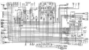 Полная электрическая принципиальная схема Урал 5323, 8х8, ЯМЗ-536.