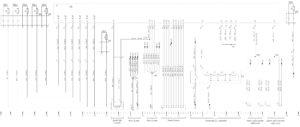 Схема электрическая принципиальная системы управления электрооборудованием КамАЗ 5490.