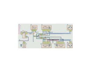 Схема включения электростеклоподъемников дверей (до 2009 г.) Шевроле Нива.