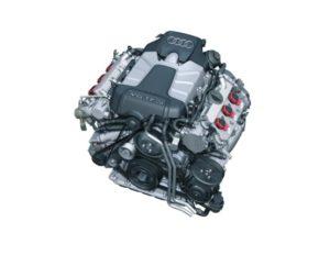 """Двигатель Audi V6 TFSI 3,0 л с нагнетателем """"roots""""."""
