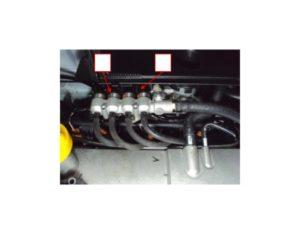 Установка BRC Sequent 32 на автомобиль Renault Logan 1.6i, 66 kW. Руководство.