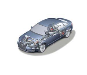Audi A6'05. Ходовая часть.