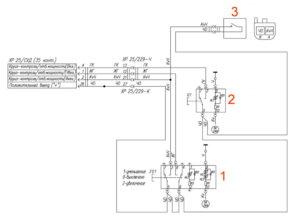 Электрическая схема круиз-контроля УРАЛ Next.