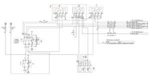 Электрическая схема раздаточной коробки УРАЛ Next.