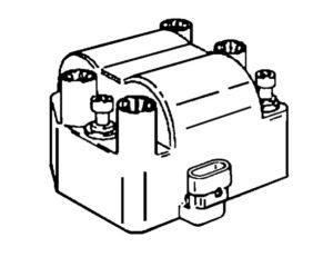 Схема системы зажигания Шевроле Нива.
