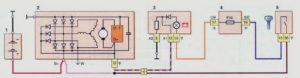 Схема соединений генератора 9402.3701-01 Шевроле Нива.