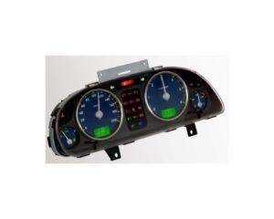 Комбинация приборов 58.3801000-060 автомобилей ГАЗ Валдай с двигателем ММЗ-Д.245 (Е-2, Е-3). Описание. Сигнализаторы.