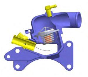Система охлаждения УМЗ-А275-100.