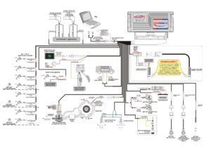 Схема подключения контроллера STAG DIESEL.