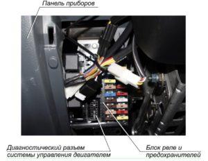 Электронная система управления двигателем ГАЗель Next.