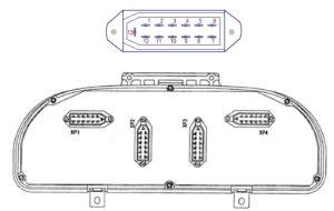 Комбинация приборов 3110.3801000-90 для автомобилей ГАЗ. Распиновка.