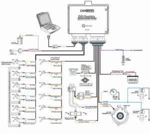 Схема подключения Digitronic DGI four/six.