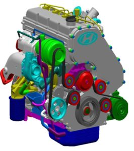 Дизельный двигатель A-2.5 TCI CRDI. Описание конструкции.