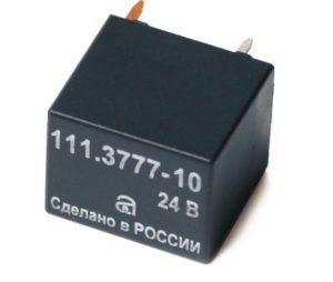Электромагнитные реле серии 11.3777. Нумерация и назначение контактов. Характеристики.