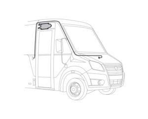 Замена реечного привода двери на привод «Ринго» ГАЗель Next Cityline. Инструкция.