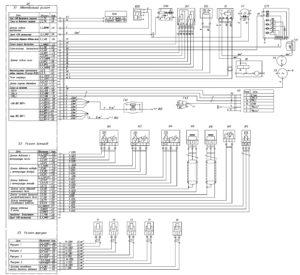 Схема системы управления ГАЗ-3309.
