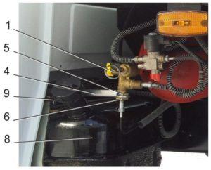 Снятие и установка заправочного устройства ГАЗель Next CNG 3.0.