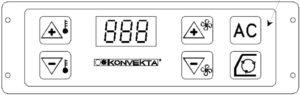 Konvekta KL60/KL70T/KL80T KS60/12V. Operating Instruction.