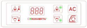 Konvekta KL40T/KL45T/KL46T KS60. Operating Instruction.