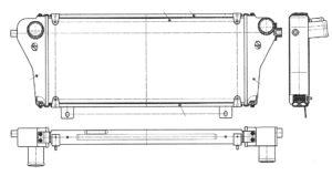 Охладитель наддувочного воздуха А21R22.1172012 ОАО «Лихославский радиаторный завод» ГАЗель Next. Инструкция по эксплуатации, диагностике и ремонту.