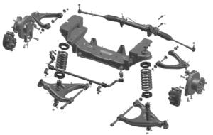 Передняя подвеска ГАЗель Next 4.6т. Руководство по ремонту.